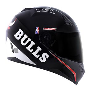 CAPACETE NORISK STUNT NBA CHICAGO BULLS PRETO 54/XS