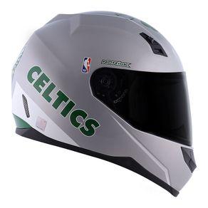 CAPACETE NORISK STUNT NBA BOSTON CELTICS CINZA 54/XS
